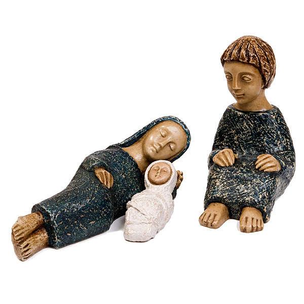 Natividad pequeña azul 3