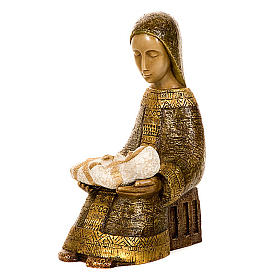 Virgen campesina con niño s4