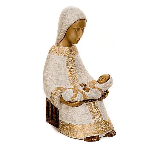 Virgen campesina con niño 2