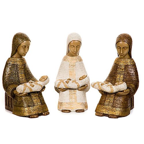 Vergine col bimbo Natività Contadina 1