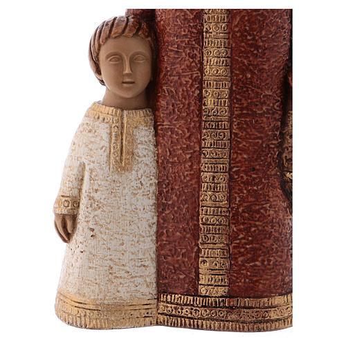 Vergine di Nazareth rossa