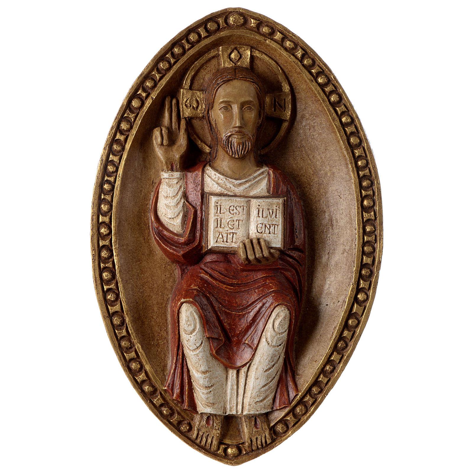 Bassrelief of Jesus, the Living 4