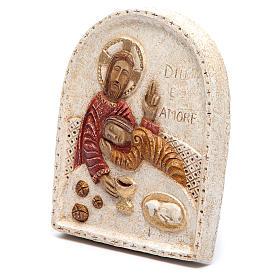 Baixo-relevo Jesus e João s2