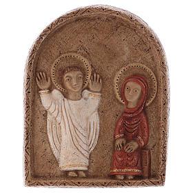 Bas reliefs en pierre: Bas-relief annonciation