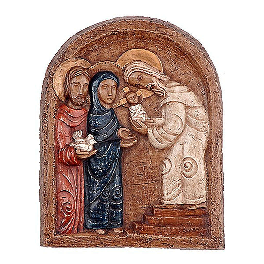 Bas-relief présentation de Jésus 4