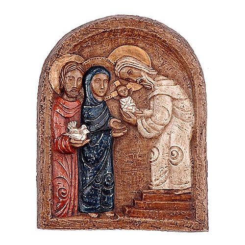 Bas-relief présentation de Jésus 1