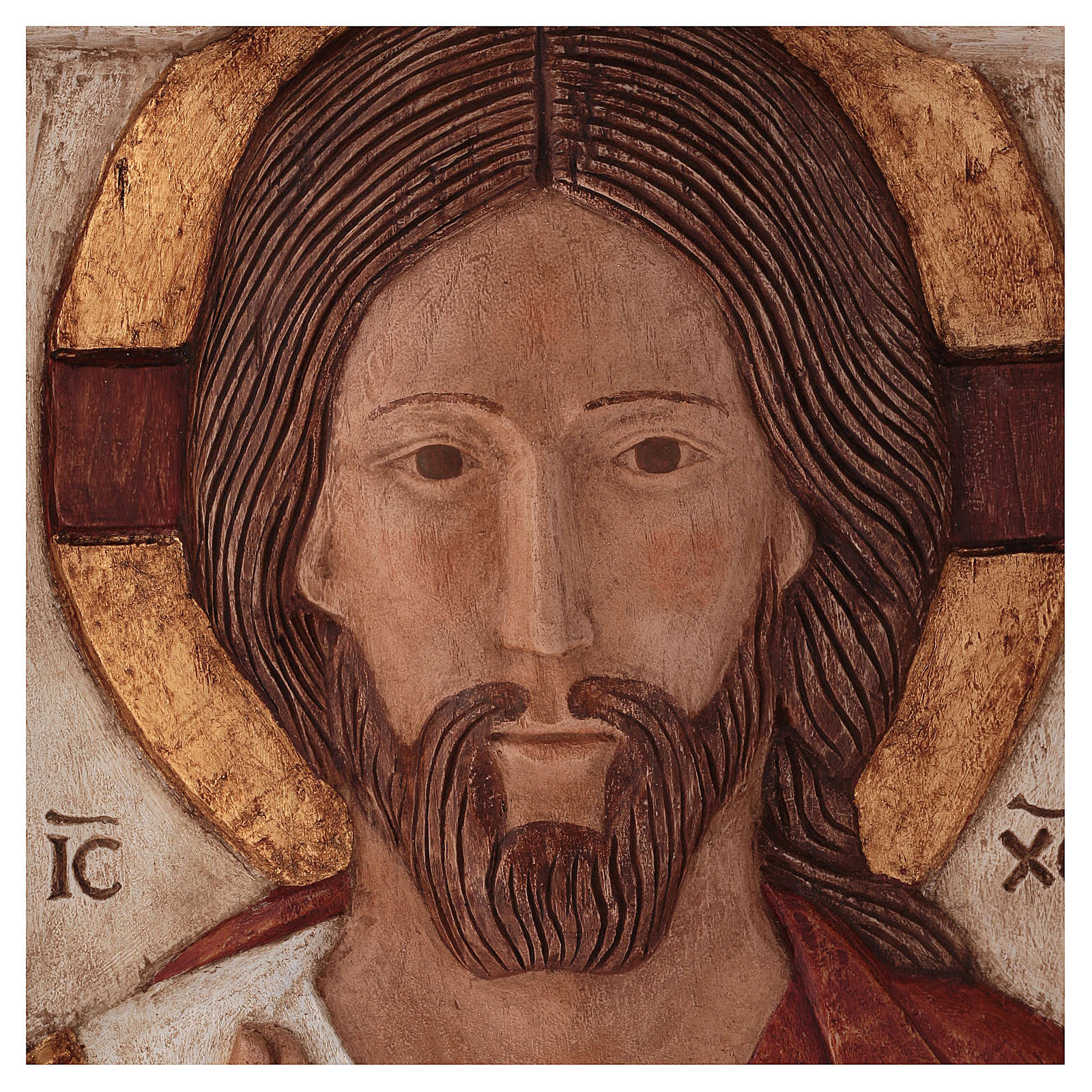 Bas relief of Jesus, the Master 4