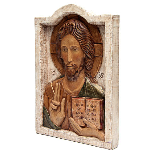 Bas relief of Jesus, the Master 3