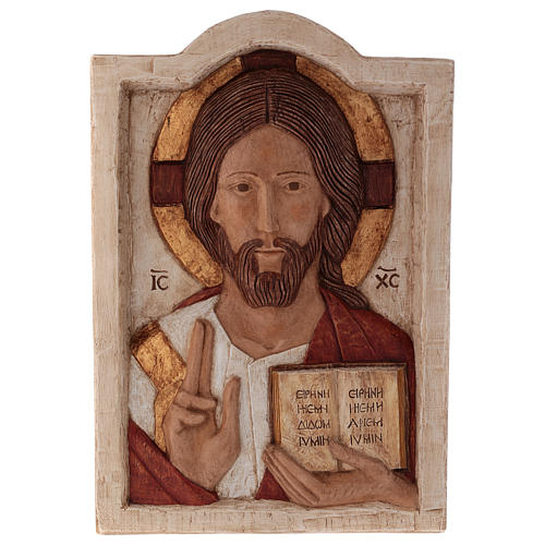 Bas relief of Jesus, the Master 1