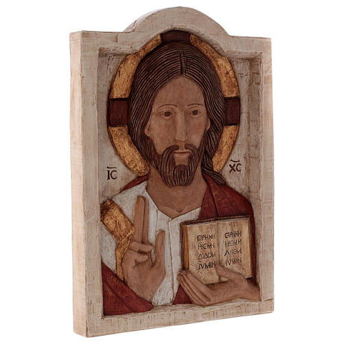 Bas relief of Jesus, the Master 5