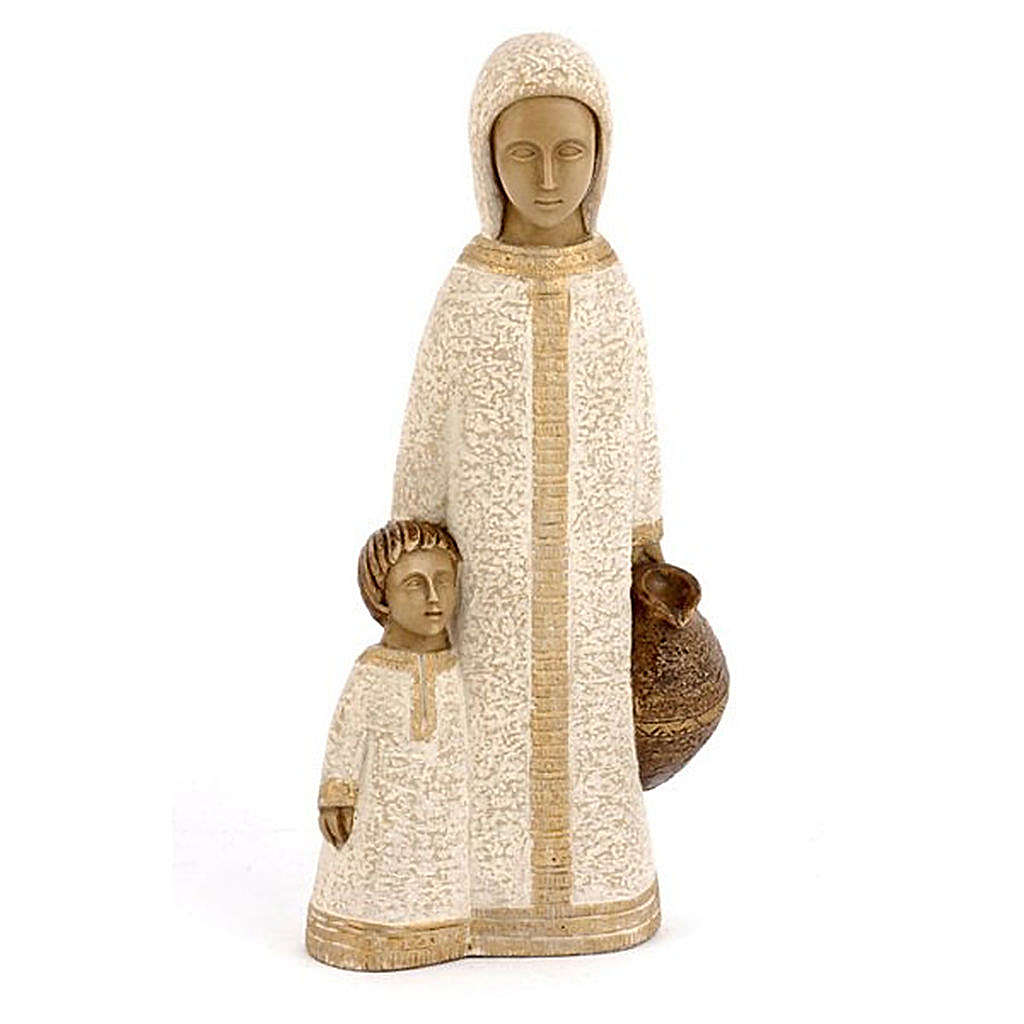 Jungfrau von Nazareth, klein, weiß 4