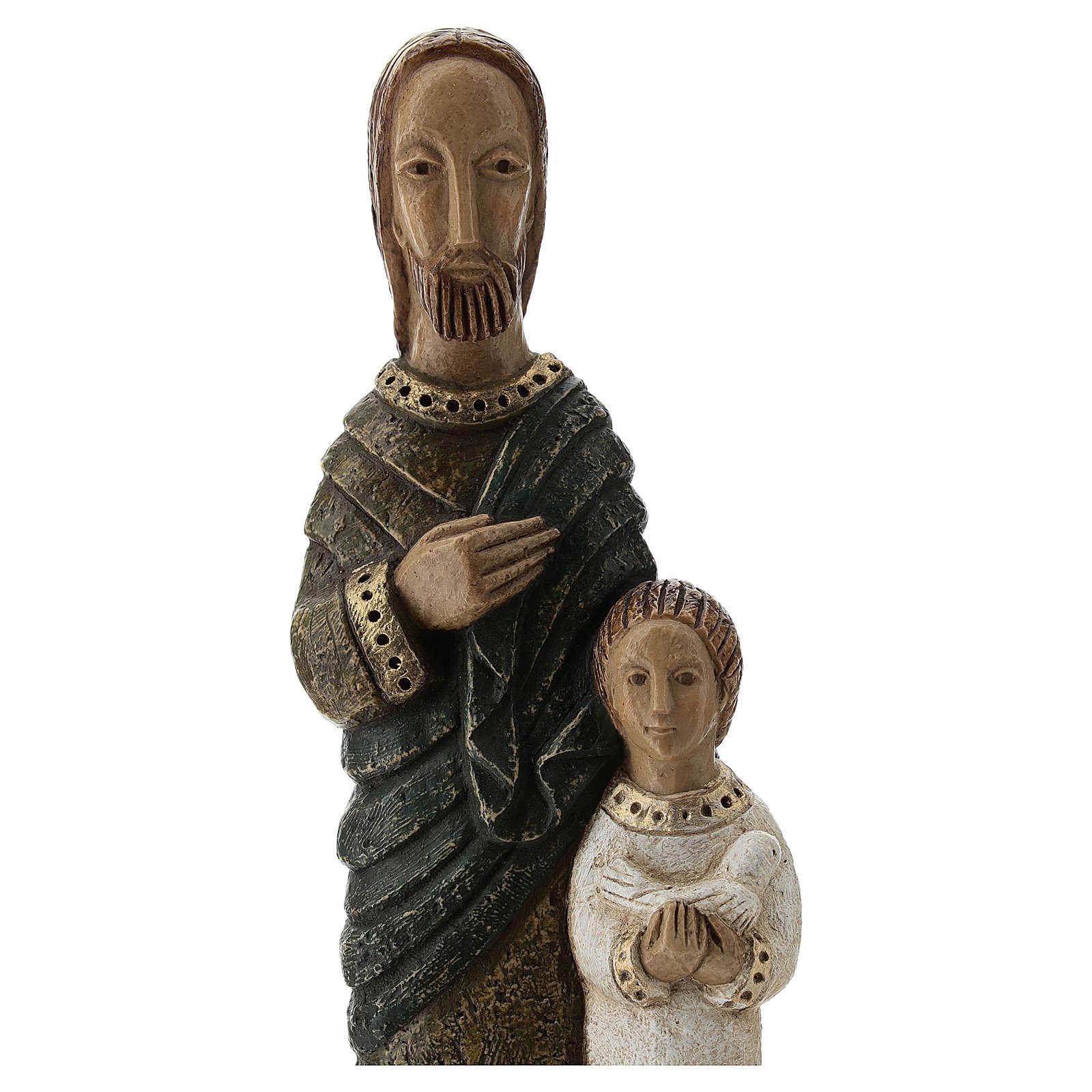 San José con Jesús Monasterio Belén 4
