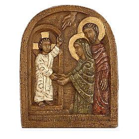 Bassorilievo Ritrovamento Gesù nel tempio s1