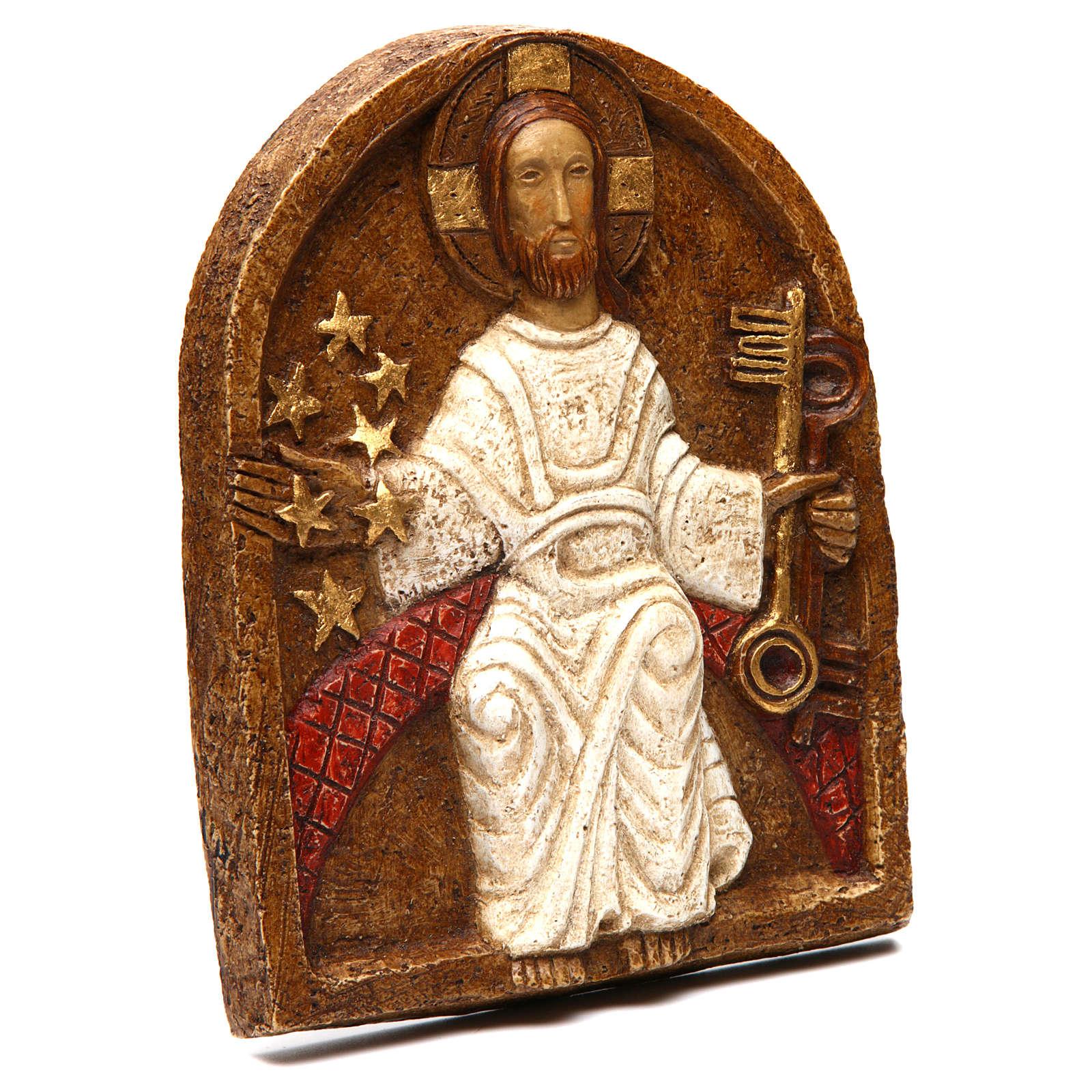 Bas-relief de Jésus dan son splendeur 4