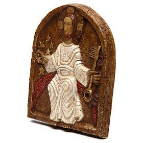 Bas-relief de Jésus dan son splendeur s2