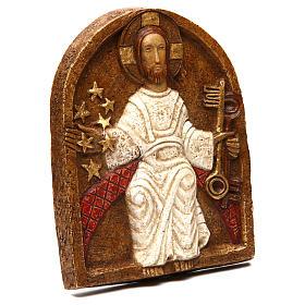 Bas-relief de Jésus dan son splendeur s3