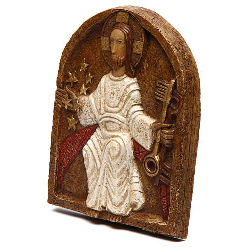 Bas-relief de Jésus dan son splendeur 2