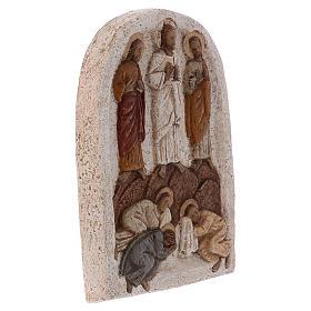 Bas-relief Transfiguration de Jésus, clair s4