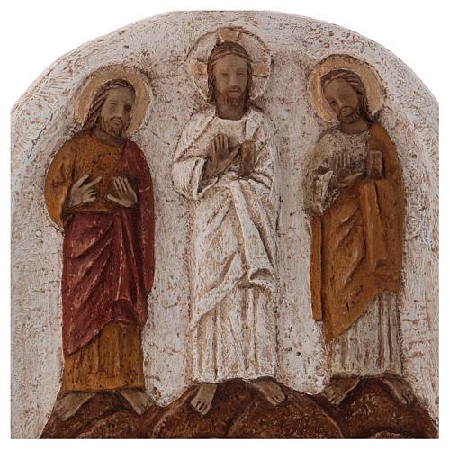 Baixo-relevo Transfiguração claro 2