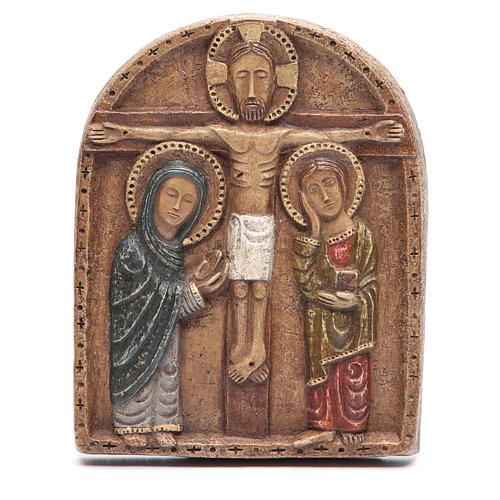 Bajorrelieve de la crucifixión 1