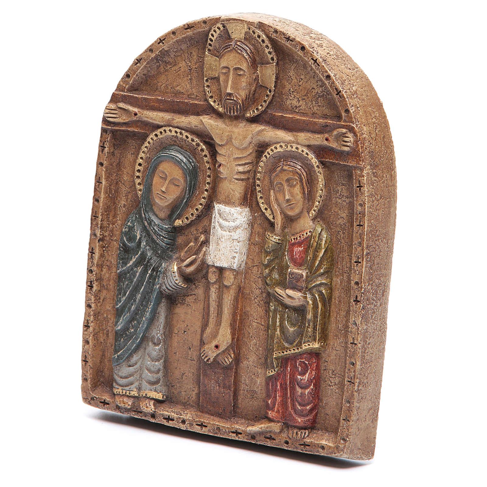 Crucifixion Basrelief 4