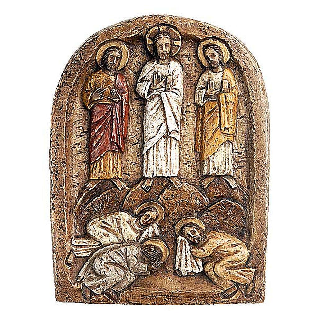 Bas-relief transfiguration, sombre 4