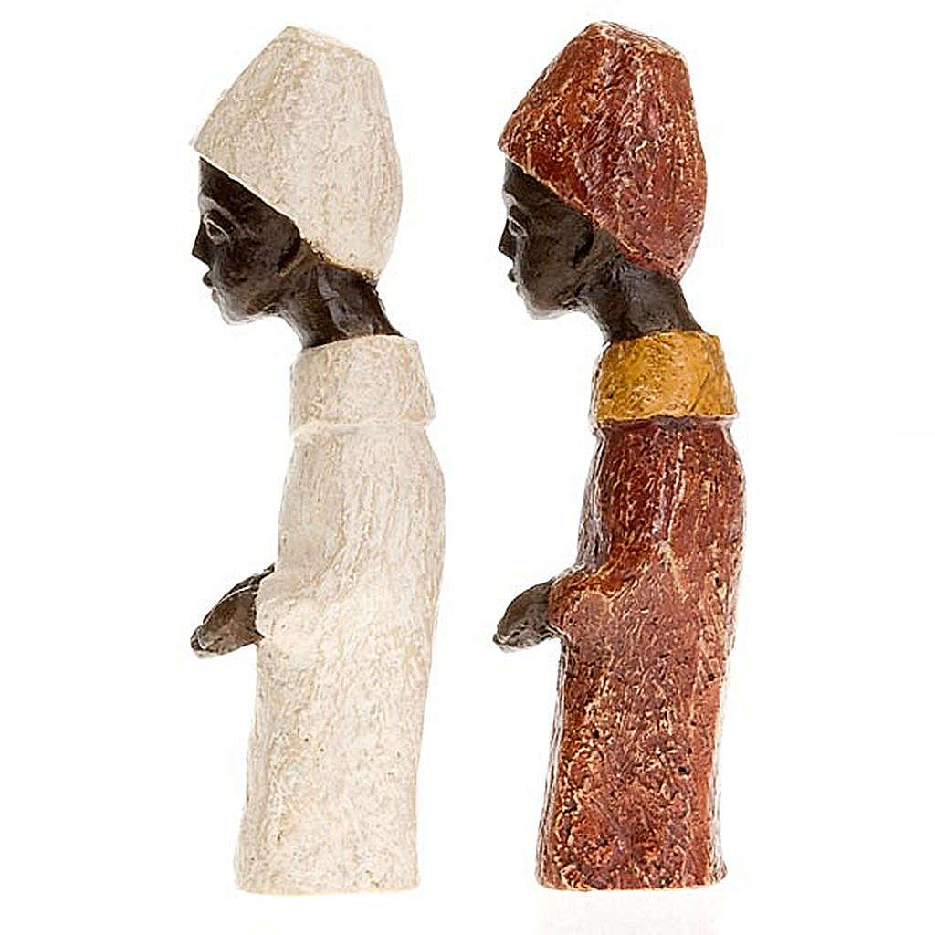 Roi africain crèche Bethléem 4