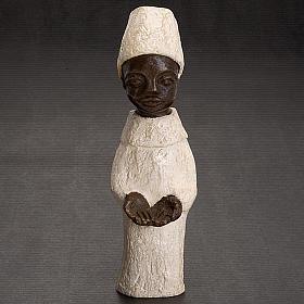 Roi africain crèche Bethléem s2