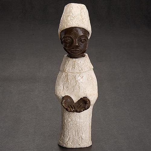 Roi africain crèche Bethléem 2