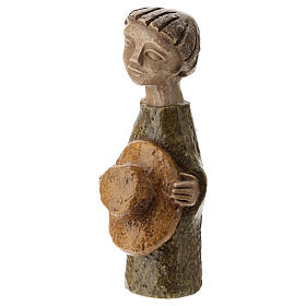 Pastore con cappello Presepe Piccolo s2
