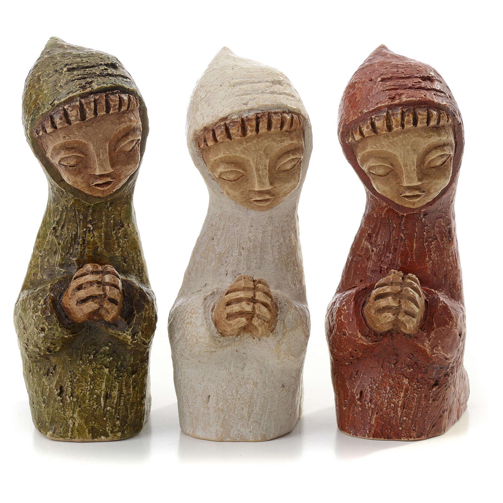 Shepherd on his knees, small creche 4