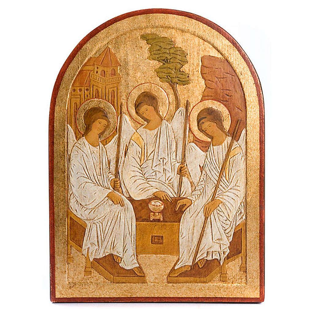 Bajorrelieve Santísima Trinidad dorado 4