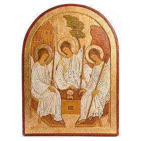 Bajorrelieve Santísima Trinidad dorado s1