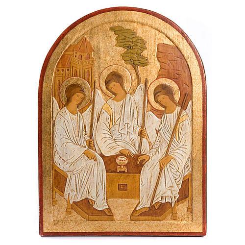 Bajorrelieve Santísima Trinidad dorado 1