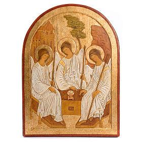 Bassorilievo SS Trinità dorato s1