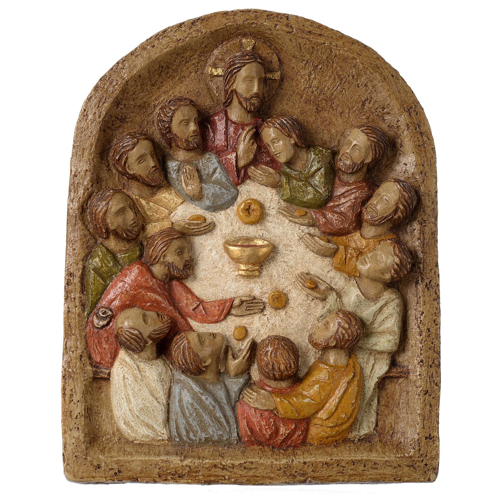 Bajorrelieve Institución de la Eucaristía 4