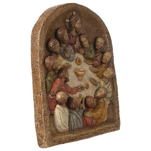 Bajorrelieve Institución de la Eucaristía 3