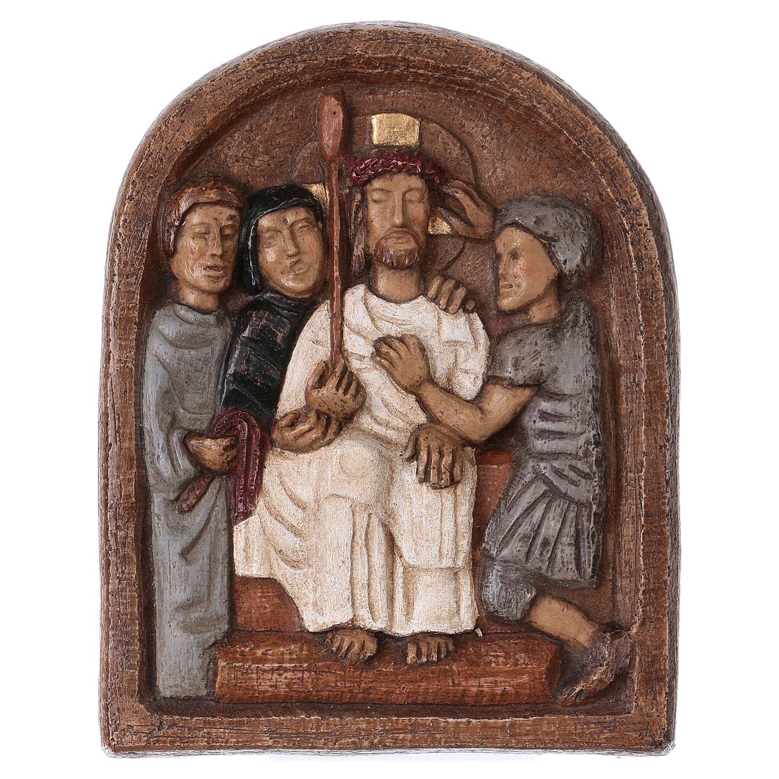 Thorns coronation basrelief 4