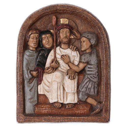Baixo-relevo Imposição da coroa de espinhos 1