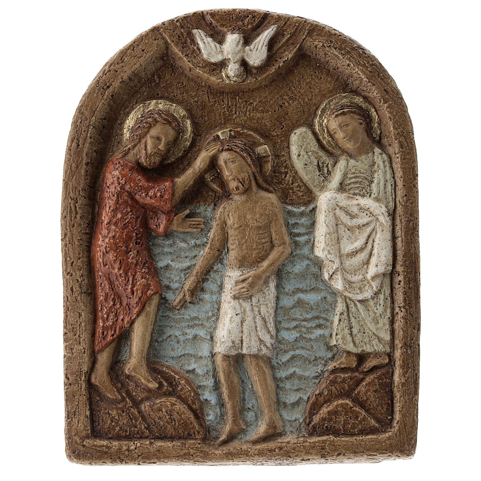 Bassorilievo Battesimo di Gesù 4