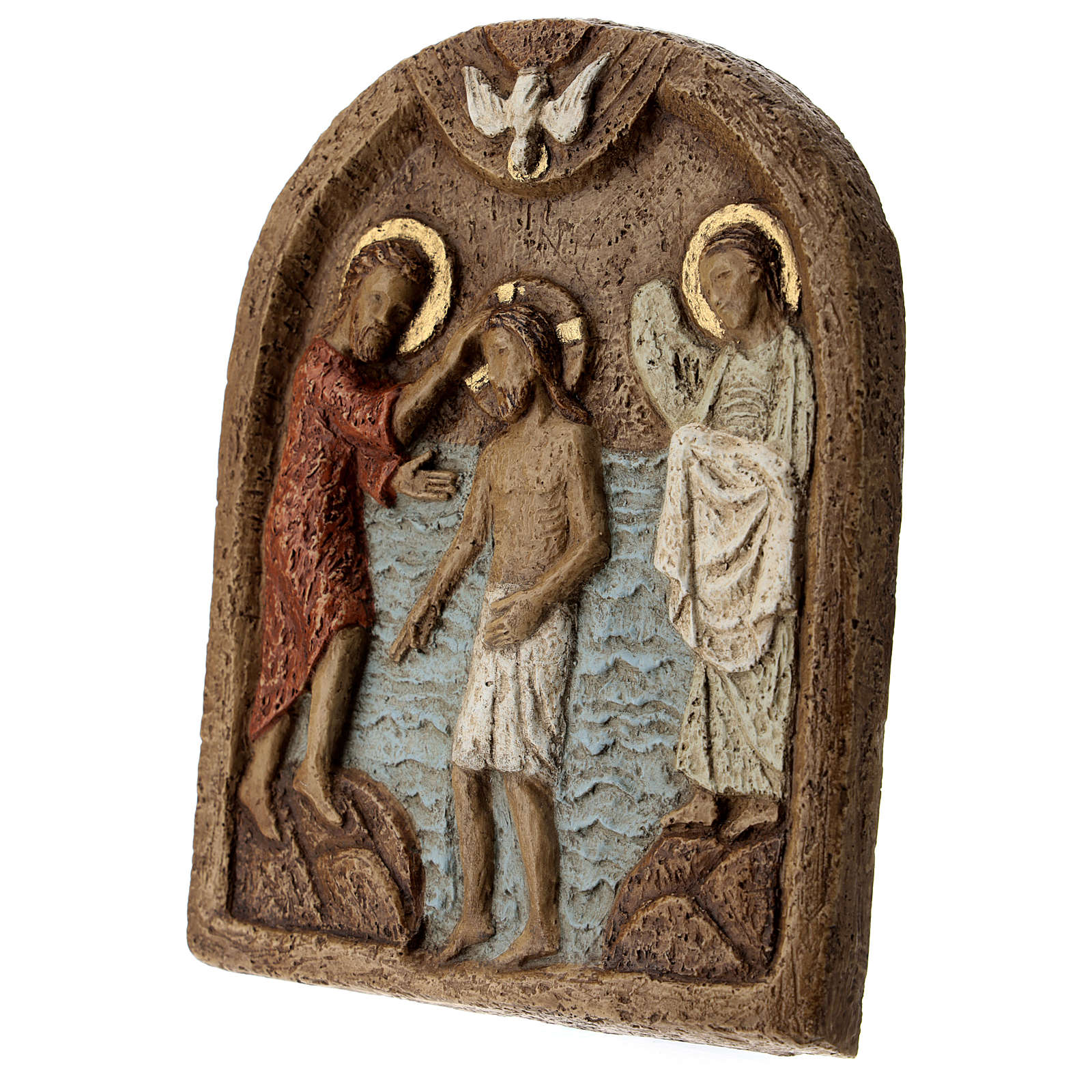 Baptism of Jesus Bas relief 4