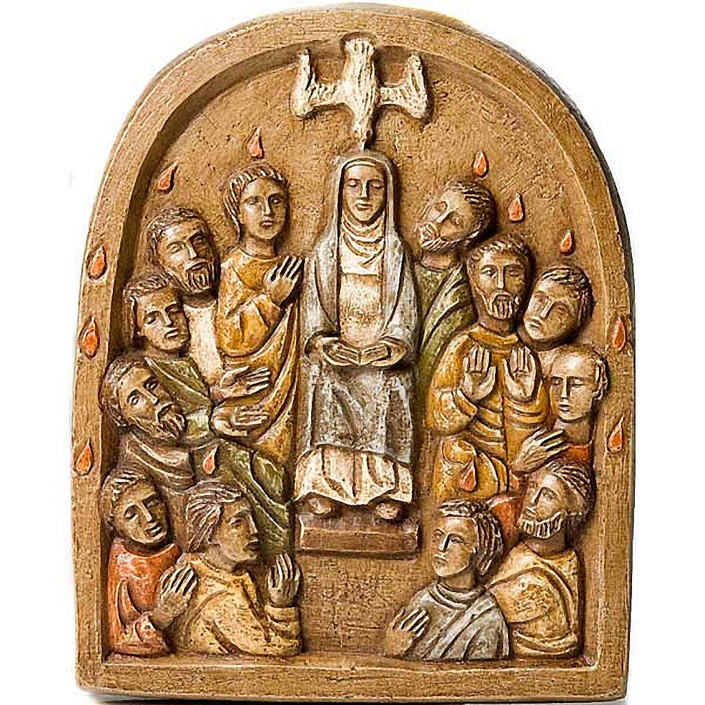 Pentecost Bas relief 4