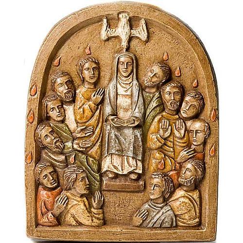 Pentecost Bas relief 1
