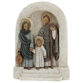 Bassorilievo Sacra Famiglia s1