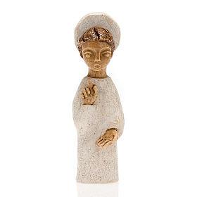 Krippenszene Engel mit Heiligenschein klein s1