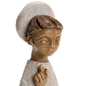 Krippenszene Engel mit Heiligenschein klein s4
