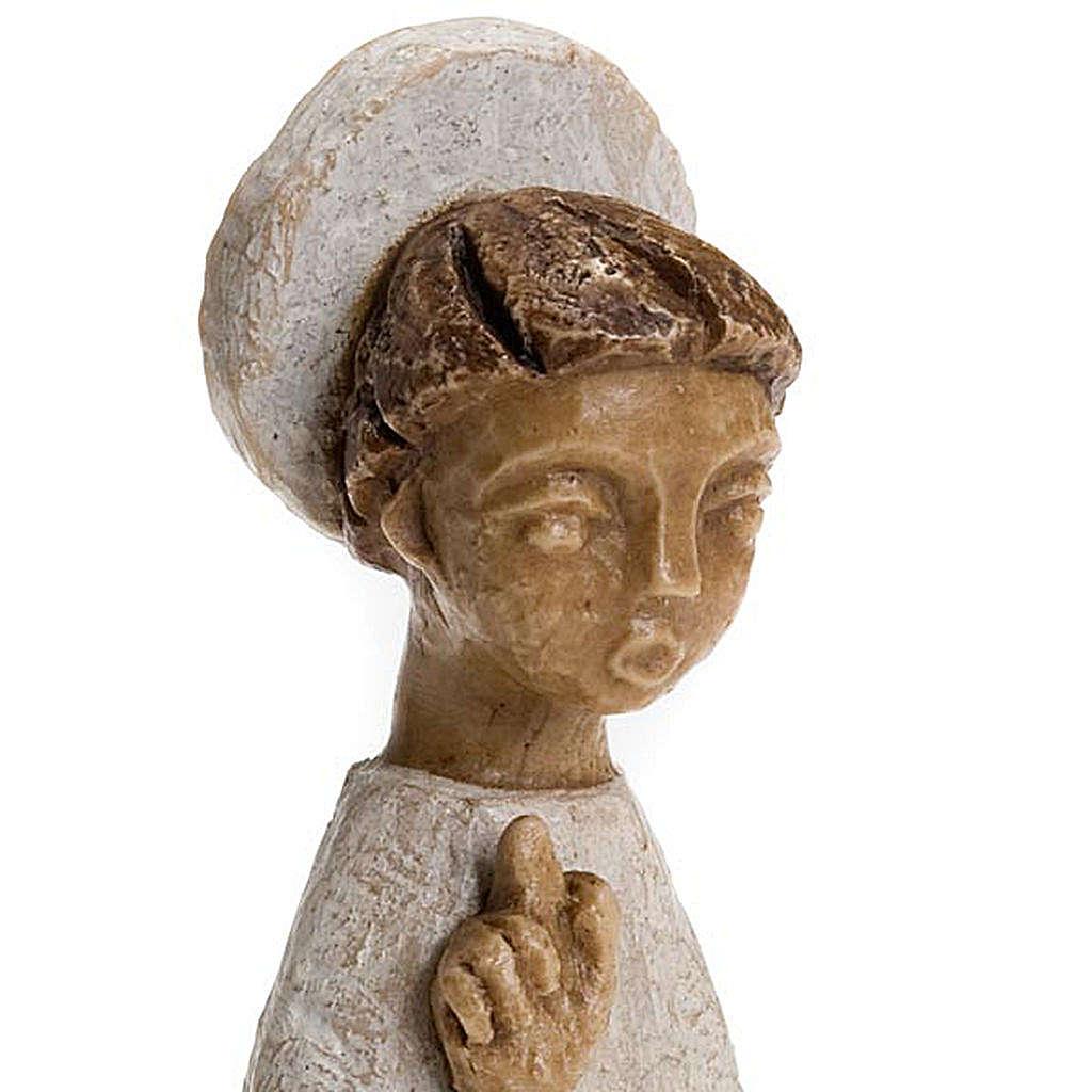 Anioł z aureolą Mała Szopka Bethleem 4