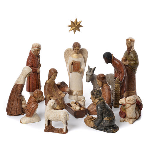 Rural Nativity Scene by Behleem nuns 1