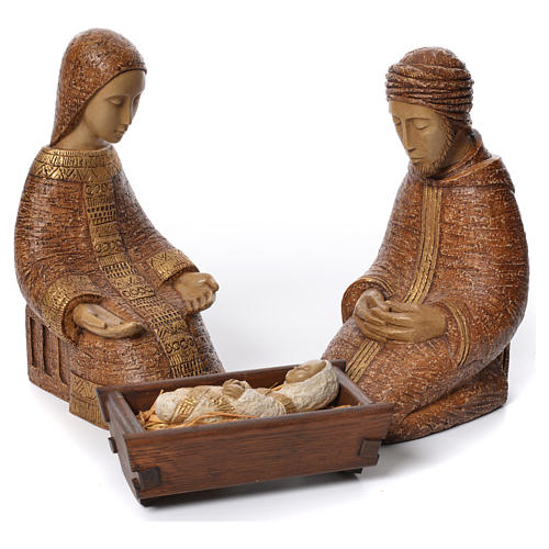 Rural Nativity Scene by Behleem nuns 2