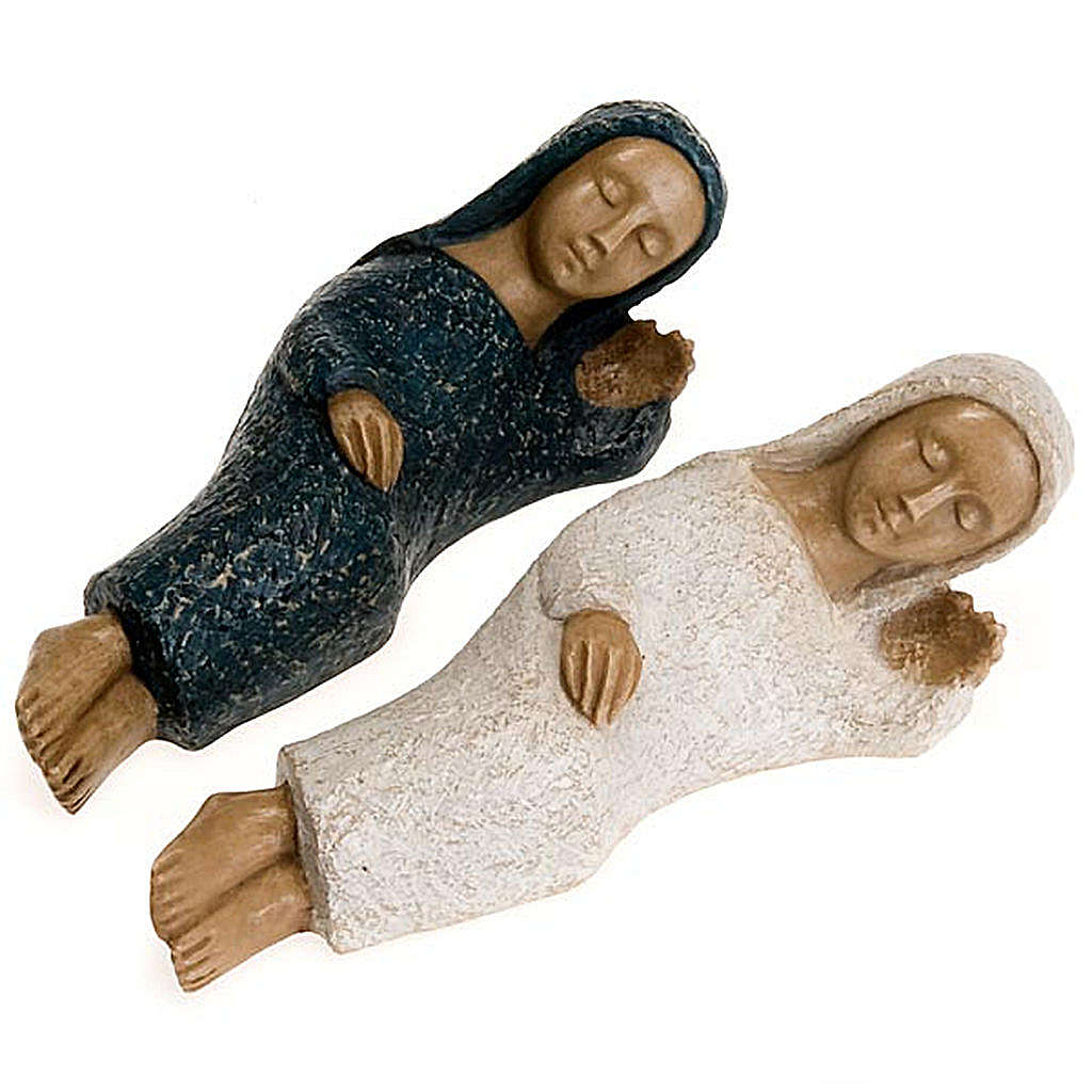 Small nativity set, Mary 4